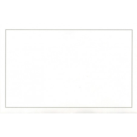 Carte remerciement décès sous-bois en filigrane avec rayons du soleil Buromac 670.049